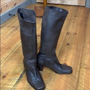 Sesto Meucci brown leather boots Made in Italy 7